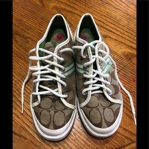 Coach rubber shoes